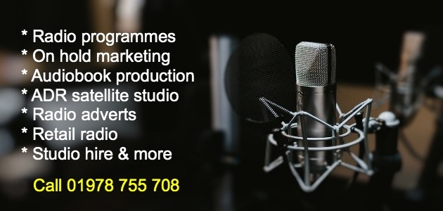 Recording studio wrexham